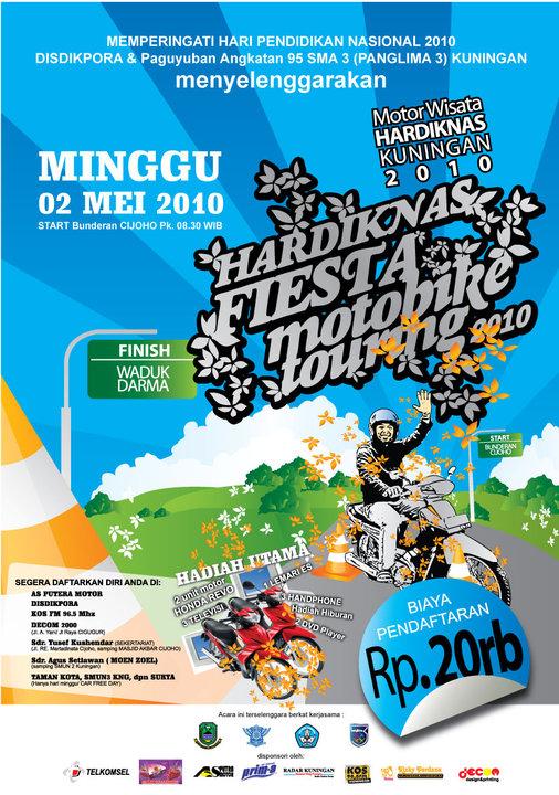 Hardiknas Fiesta Motobike Touring 2010